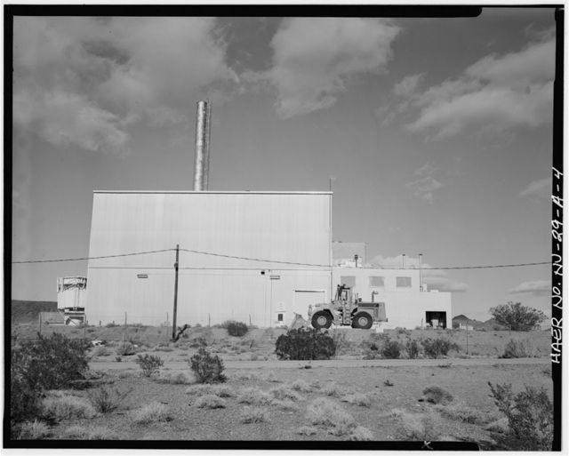 Nevada Test Site, Reactor Maintenance Assembly & Dissassembly Facility, Area 25, Jackass Flats, Junction of Roads F & G, Mercury, Nye County, NV