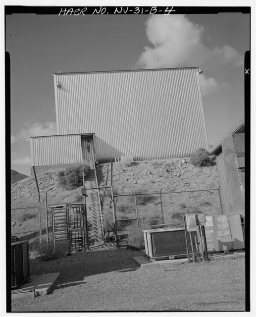 Nevada Test Site, Super Kukla Facility, High Bay, Area 27, Rock Valley, South of Cane Spring Road, Mercury, Nye County, NV