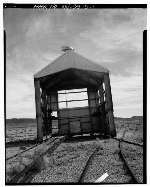 Nevada Test Site, Test Cell A Facility, Moveable Shed, Area 25, Jackass Flats, Road F, Mercury, Nye County, NV