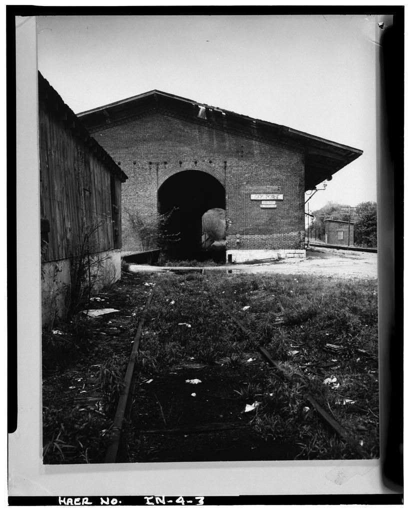 New Albany & Salem Railroad, North Street, Gosport, Owen County, IN