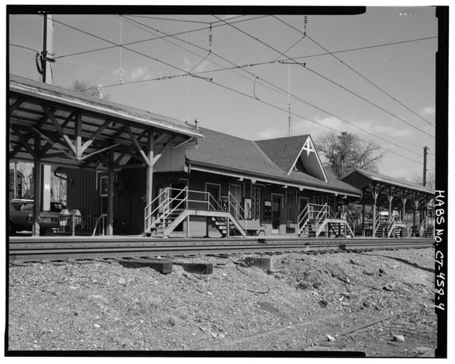New Canaan Railroad Station, Approximately 200 feet southwest of intersection of Park & Elm Streets & approximately 150 feet north of Pine Street, New Canaan, Fairfield County, CT