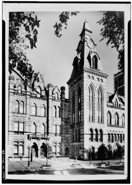 New Haven City Hall & Courthouse, Church Street, between Court & Elm Streets, New Haven, New Haven County, CT