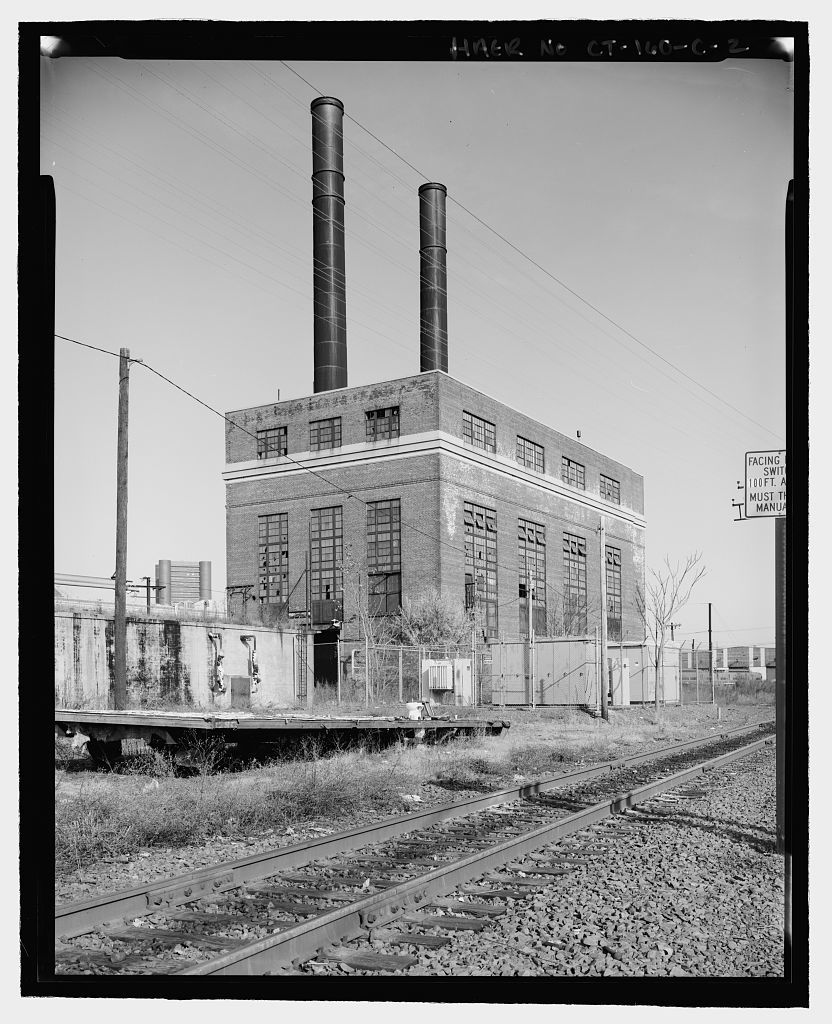 New Haven Rail Yard, Central Steam Plant And Oil Storage, Vicinity Of Union  Avenue