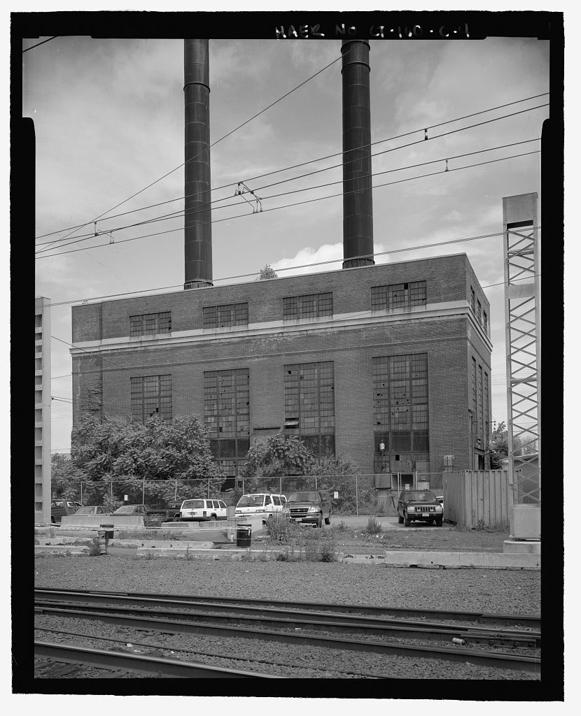 New Haven Rail Yard, Central Steam Plant And Oil Storage, Vicinity Of Union  Avenue, New Haven, New Haven County, CT