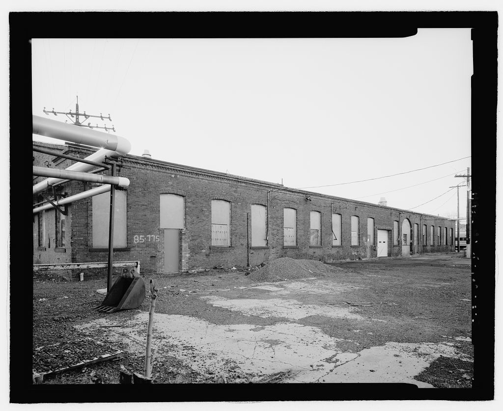 New Haven Rail Yard, Machine Shop, Vicinity of Union Avenue, New Haven, New Haven County, CT