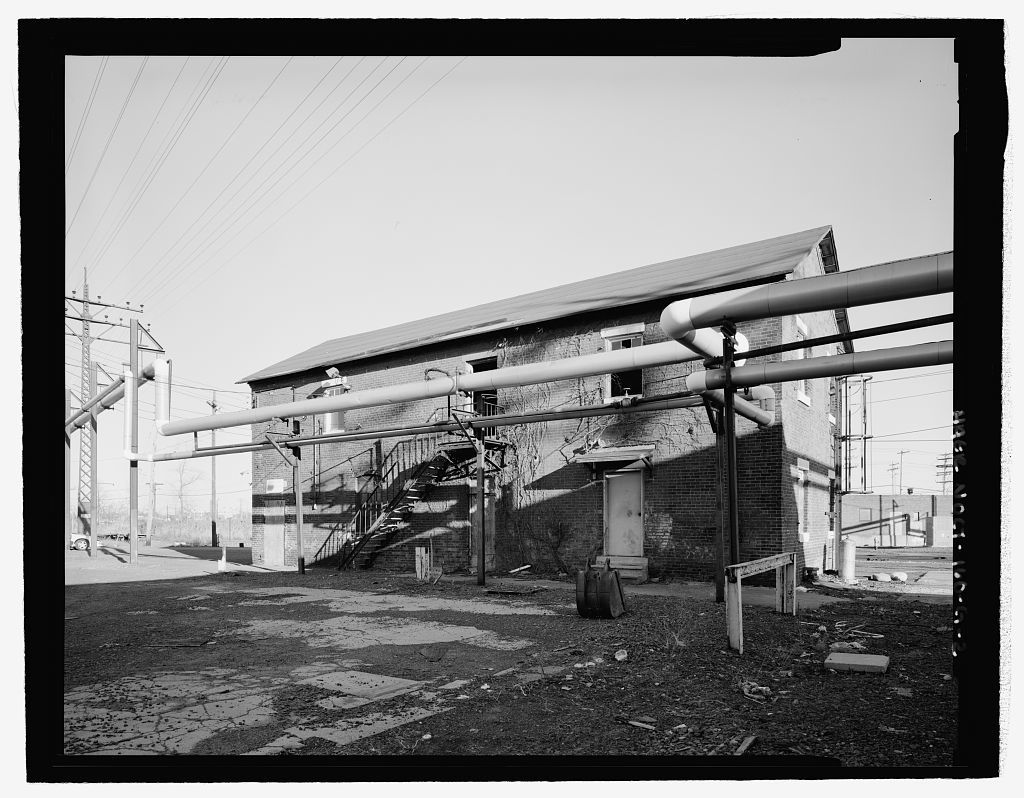 New Haven Rail Yard, Oil Storage Building, Vicinity Of Union Avenue, New  Haven
