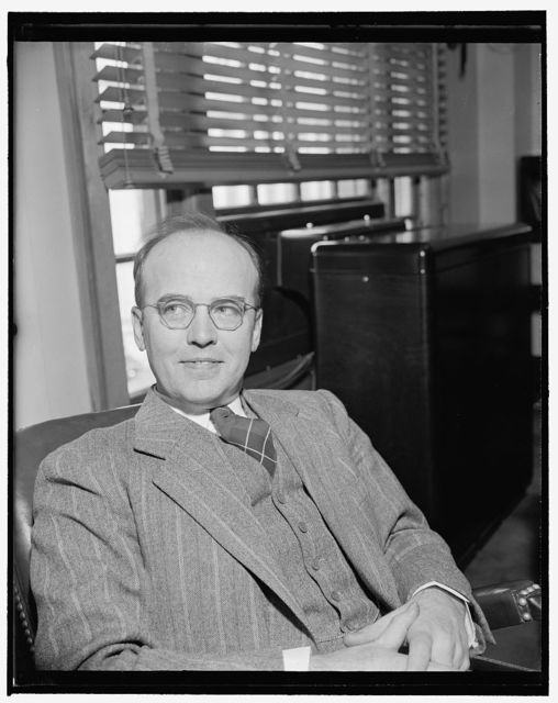 New Head of Farm Credit Administration. Washington, D.C., Dec. 21. President Roosevelt today appointed Dr. A.G. Black as Governor of the Farm Credit Administration to succeed F.F. Hill, resigned. Black, above, has been serving as Chief of the Department of Agriculture's Marketing and Regulatory Work