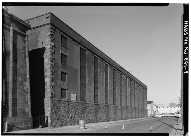 New Jersey State Prison, Second & Federal Streets, Trenton, Mercer County, NJ