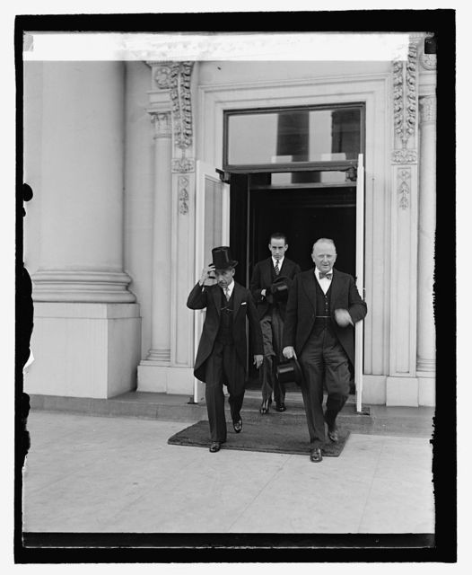 New Minister of Honduras at W.H., 8/24/29