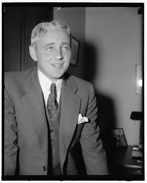 New Senator from Vermont. Washington, D.C., July 1. Ernest W. Gibson, Jr., today took the oath as Republican Senator from Vermont and assumed his duties immediately. He named to succeed his father, Senator Ernest W. Gibson, who died a few weeks ago after a long illness