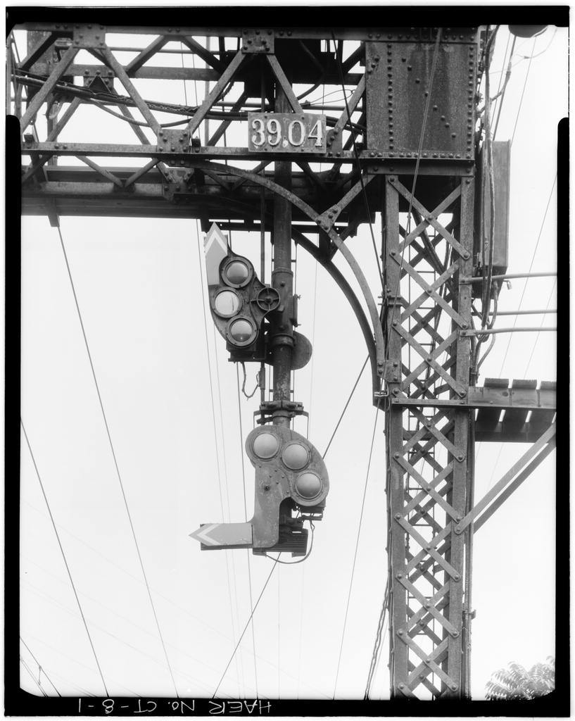 New York, New Haven & Hartford Railroad, Automatic Signalization System, Long Island Sound shoreline between Stamford & New Haven, Stamford, Fairfield County, CT