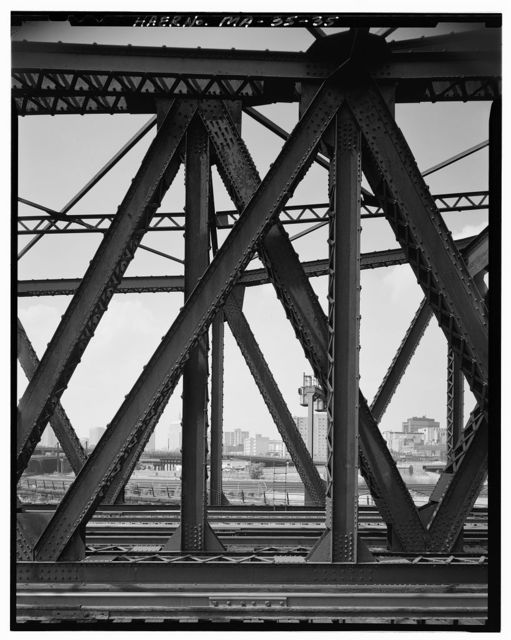 New York, New Haven & Hartford Railroad, Fort Point Channel Rolling Lift Bridge, Spanning Fort Point Channel, Boston, Suffolk County, MA