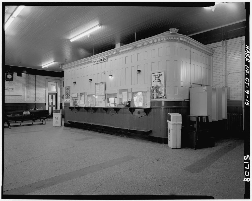 New York, New Haven & Hartford Railroad, Stamford Station, 44 Station Place, Stamford, Fairfield County, CT