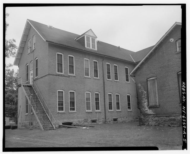 New York State Soldiers & Sailors Home, Building No. 29, Department of Veterans Affairs Medical Center, 76 Veterans Avenue, Bath, Steuben County, NY