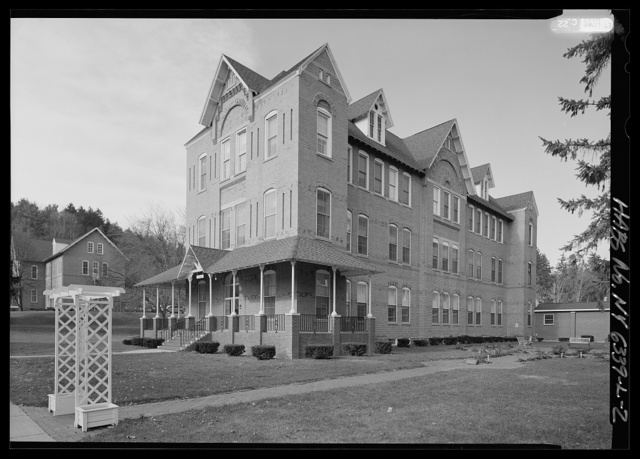 New York State Soldiers & Sailors Home, Building No. 33, Department of Veterans Affairs Medical Center, 76 Veterans Avenue, Bath, Steuben County, NY