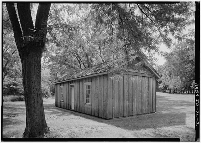Nez Perce Agency-Agency Log Building, South bank of Clearwater River, Spalding, Nez Perce County, ID