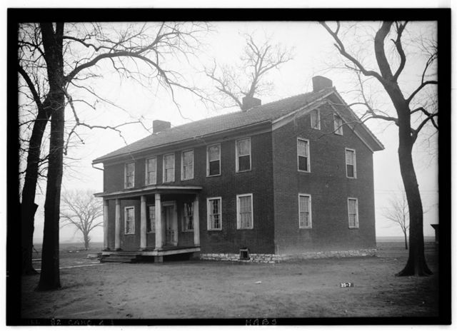 Nicholas Jarrot Mansion, State Route 157, Cahokia, St. Clair County, IL
