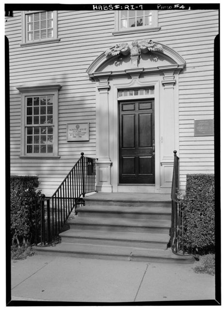 Nichols-Wanton-Hunter House, 54 Washington Street, Newport, Newport County, RI