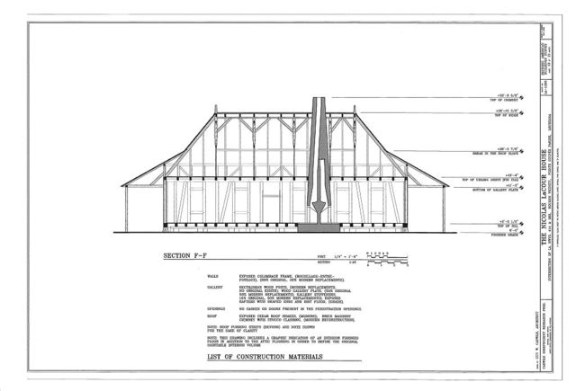 Nicolas LaCour House, Intersection of State Highways 414 & 983, Rougon, Pointe Coupee Parish, LA