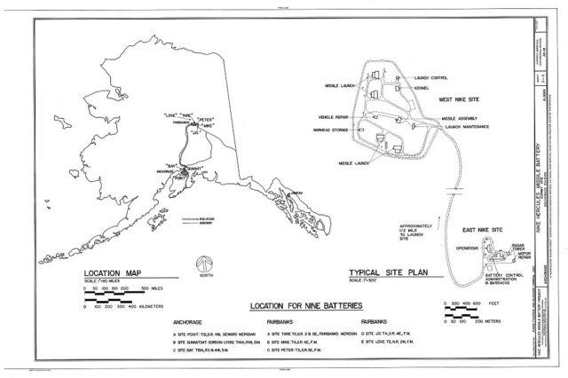 Nike Hercules Missile Battery Summit Site, Anchorage Alaska, Anchorage, Anchorage, AK