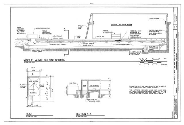 Nike Hercules Missile Battery, Tare Site, Launching Structure, Fairbanks, Fairbanks North Star Borough, AK