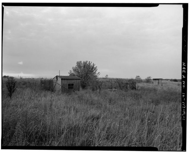 NIKE Missile Base SL-40, Canine Kennel, South central portion of launch area, northwest of Generator Building No. 3, Hecker, Monroe County, IL