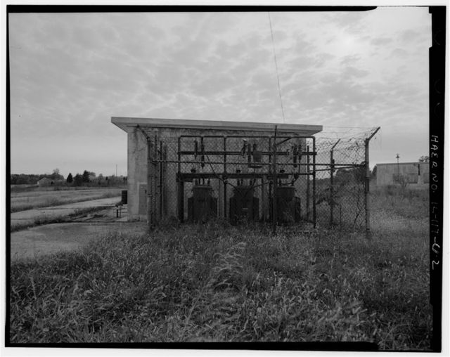 NIKE Missile Base SL-40, Generator Building No. 3, South end of launch area, southeast of Canine Kennel, Hecker, Monroe County, IL