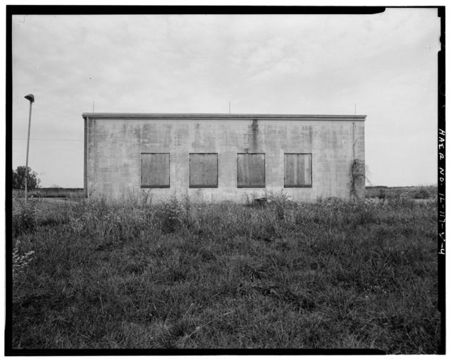 NIKE Missile Base SL-40, Warheading Building, South end of launch area, west of Generator Building No. 3, Hecker, Monroe County, IL