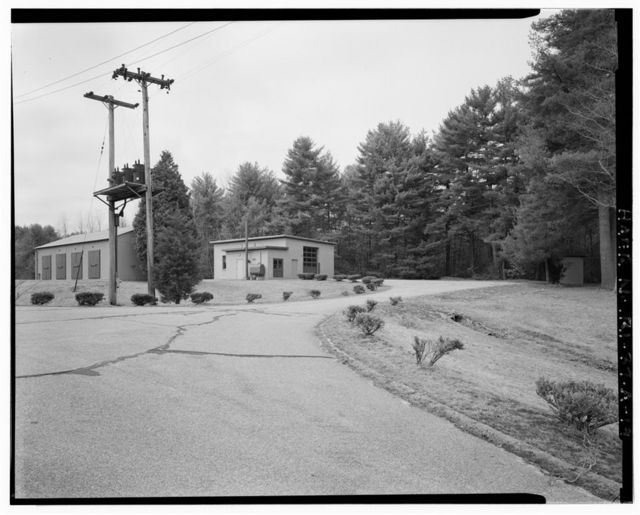 NIKE Missile Battery PR-79, Launch Area, East Windsor Road south of State Route 101, Foster, Providence County, RI