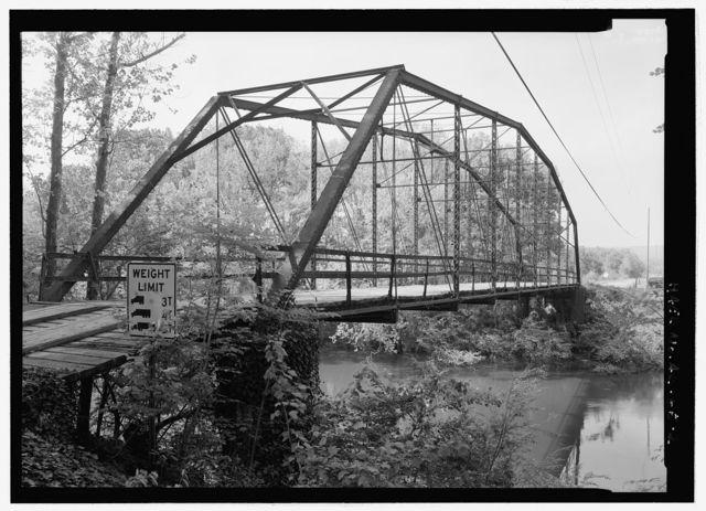 Nimrod Bridge, Spanning Fourche Lafave River at CR 18, Nimrod, Perry County, AR