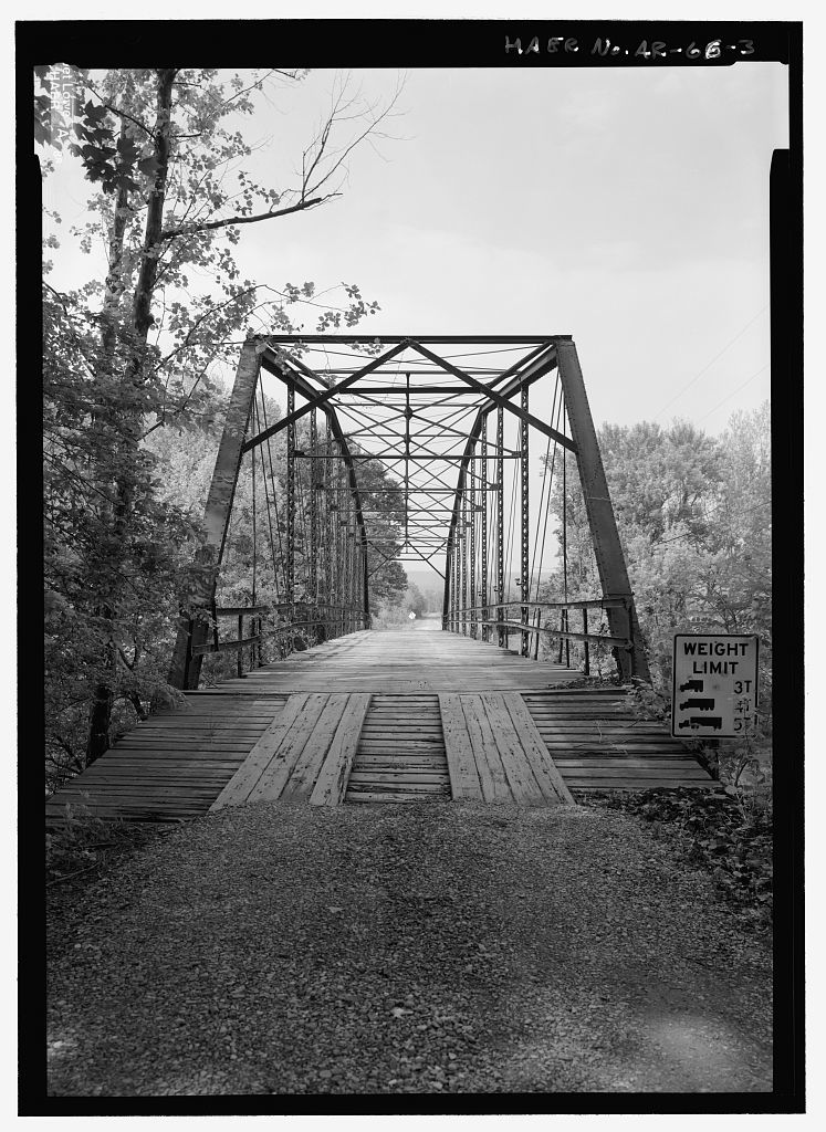 Nimrod Bridge, Spanning Fourche Lafave River at CR 18, Nimrod, Perry County, AR