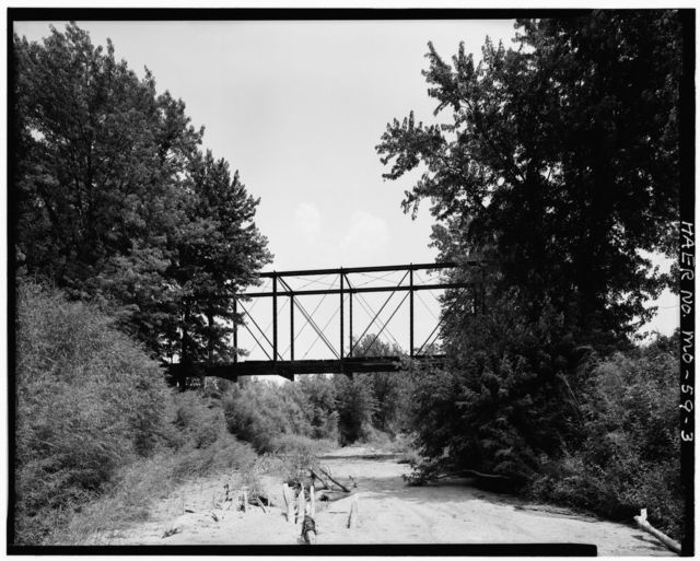 Nineveh Bridge, Spanning Old Channel of Chariton River, Connelsville, Adair County, MO