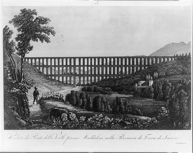 No. 2. Veduta dei ponti della valle presso maddaloni nella provincia di terra di lavoro