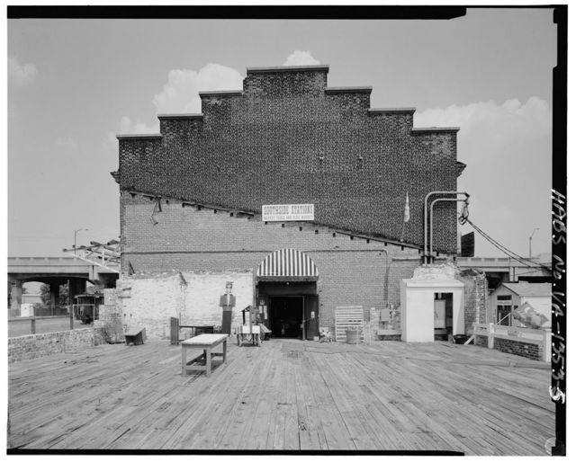 Norfolk & Western Railway, Petersburg Freight Depot, 5-7 River Street, Petersburg, Petersburg, VA