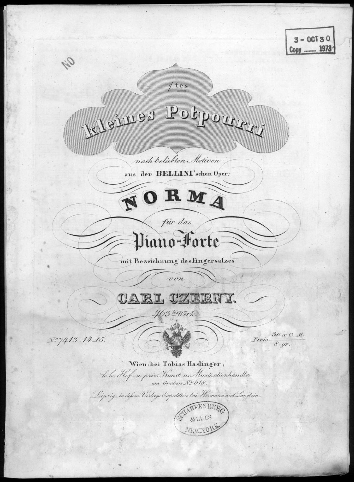 Norma, op. 463, no. 13