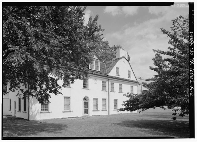 Normandy Farm, House, Morris & DeKalb Roads, Franklinville, Montgomery County, PA