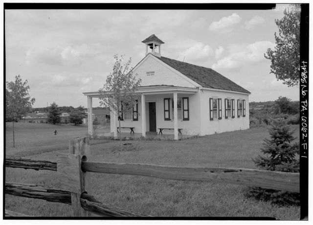 Normandy Farm, Schoolhouse, Morris & DeKalb Roads, Franklinville, Montgomery County, PA