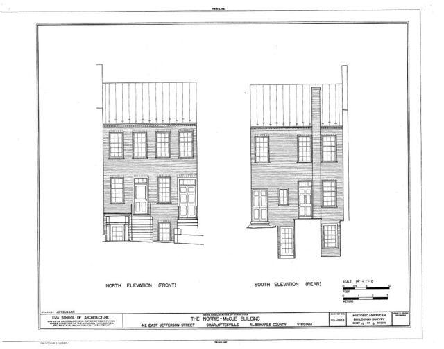 Norris-McCue Building, 415 East Jefferson Street, Charlottesville, Charlottesville, VA
