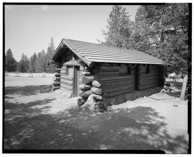 Norris Museum, Restrooms, Northwest of Steamboat Geyser & southeast of Museum, Lake, Teton County, WY