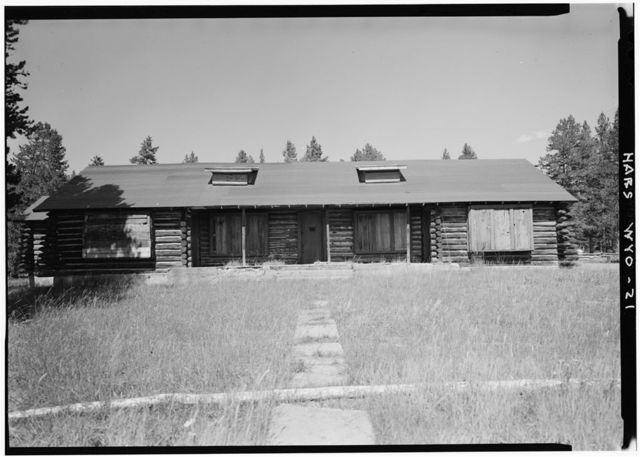 Norris Soldiers Station, Norris Campgrounds & Gibbon River vicinity, Lake, Teton County, WY