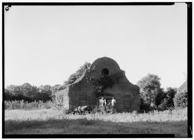 North Chachan Plantation, Stable, Cooper River, West Branch, Cordesville, Berkeley County, SC