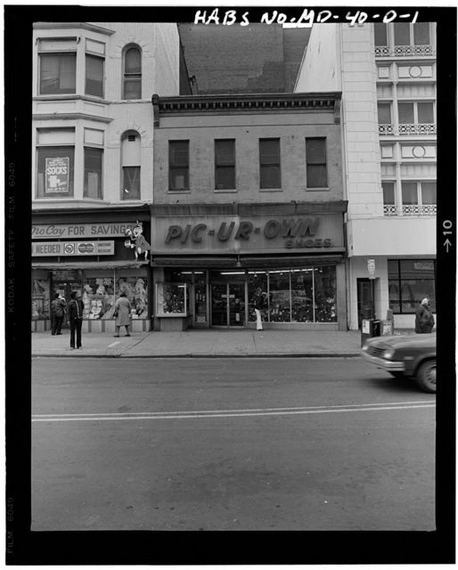 North Eutaw Street, Nos. 207-209 (Commercial Buildings), Baltimore, Independent City, MD