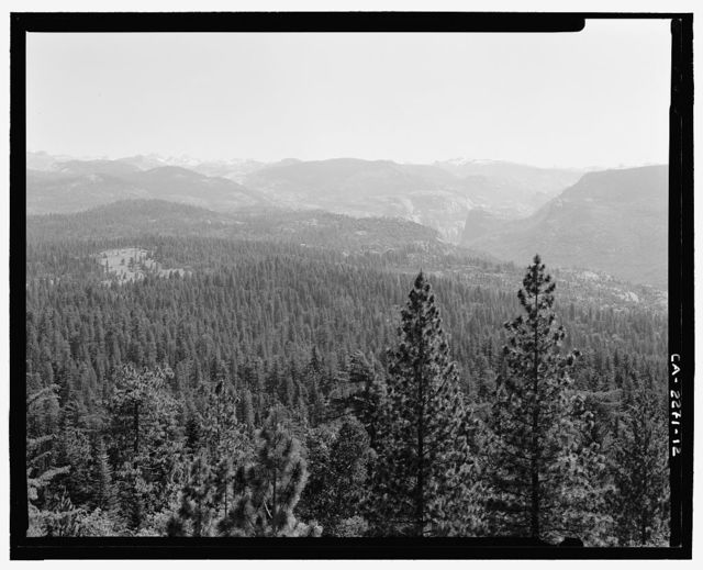 North Mountain Lookout, Stanislaus National Forest, Groveland, Tuolumne County, CA