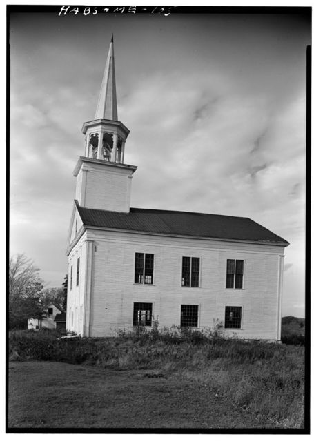 North Parish Meetinghouse, St. George Road (State Route 131), Thomaston, Knox County, ME
