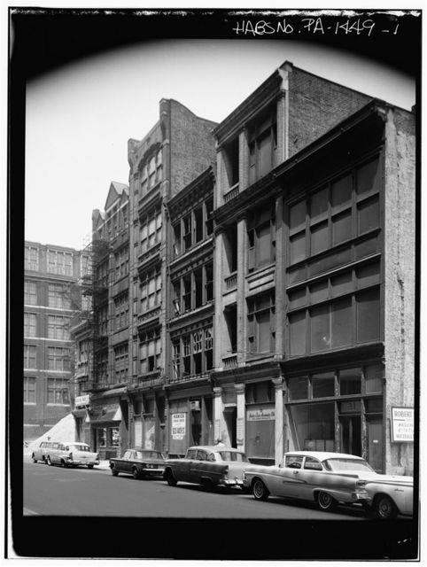 North Seventh Street Area Study (Commercial Buildings ), 21-33 North Seventh Street, Philadelphia, Philadelphia County, PA