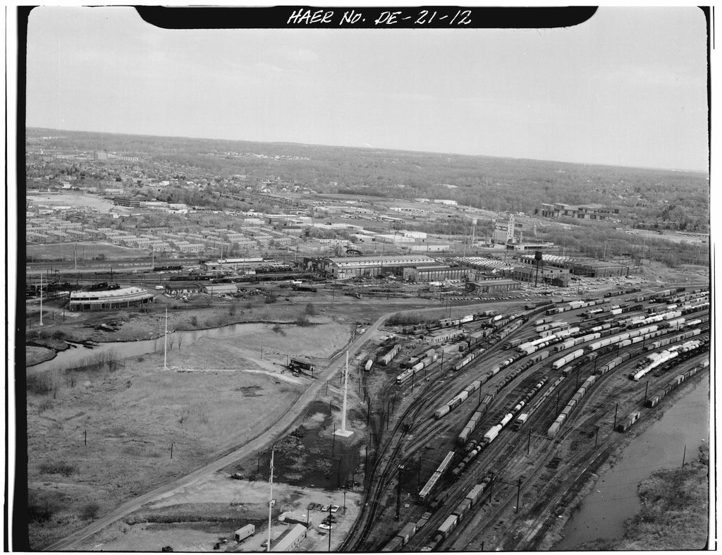 Northeast Railroad Corridor, Amtrak Route between Maryland/Delaware & Delaware/Pennsylvania State Lines, Wilmington, New Castle County, DE