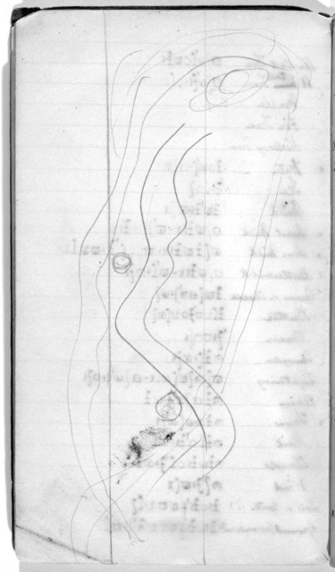 Notebook by Alexander Graham Bell, from undated to April 23, 1903