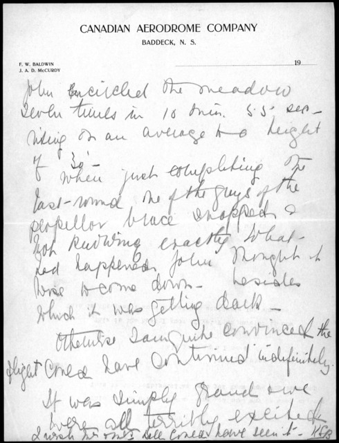 Notes by Kathleen Baldwin, undated