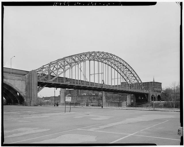 Notre Dame Bridge, Spanning Merrimack River on Bridge Street, Manchester, Hillsborough County, NH