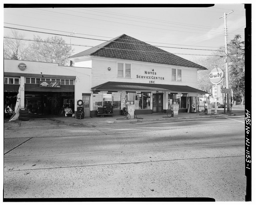 Noyes Service Center, Main Street (State Route 49) & South Avenue, Shiloh, Cumberland County, NJ